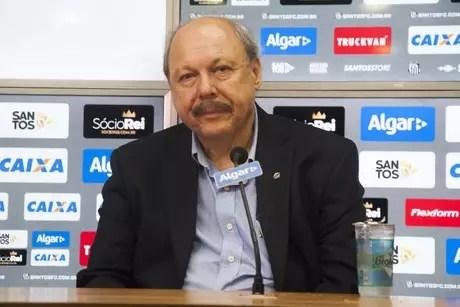 José Carlos Peres foi expulso do quadro de sócios do Santos (Foto: Ivan Storti/Santos FC)