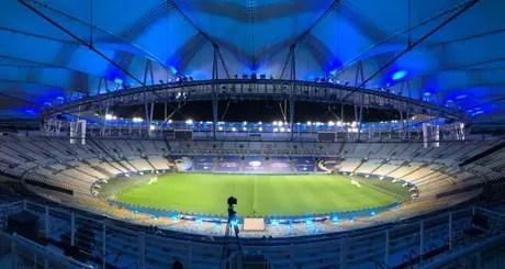 Maracanã terá presença de público, assim como aconteceu na Libertadores (Foto: Bruno Lordelo / Maracanã)
