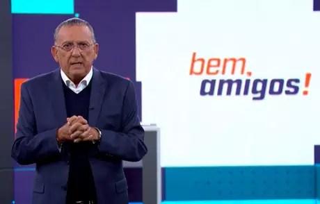 Galvão estará à frente de transmissão (Foto: Reprodução/SporTV)
