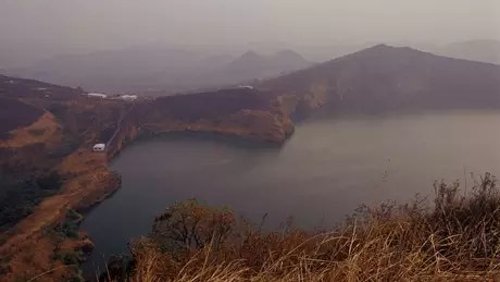 Nyos is a volcanic lake located in a remote part of Cameroon, West Africa