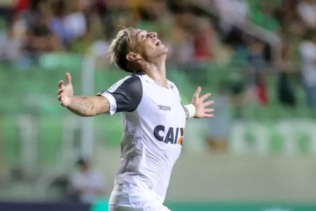 Roger Guedes will play for Corinthians for the next seasons (Photo: Bruno Cantini/Atlético-MG)