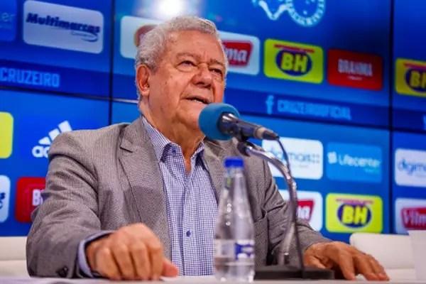 Dalai Rocha justificou o ato de expulsão de conselheiros como aplicação simples das regras do clube-(Vinnicius Silva/Cruzeiro)