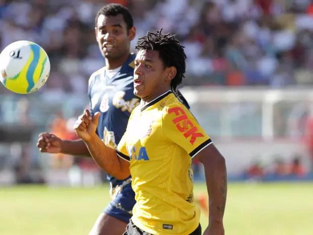 Romarinho foi repreendido por acusações Foto: Celio Messias / Agência Lance
