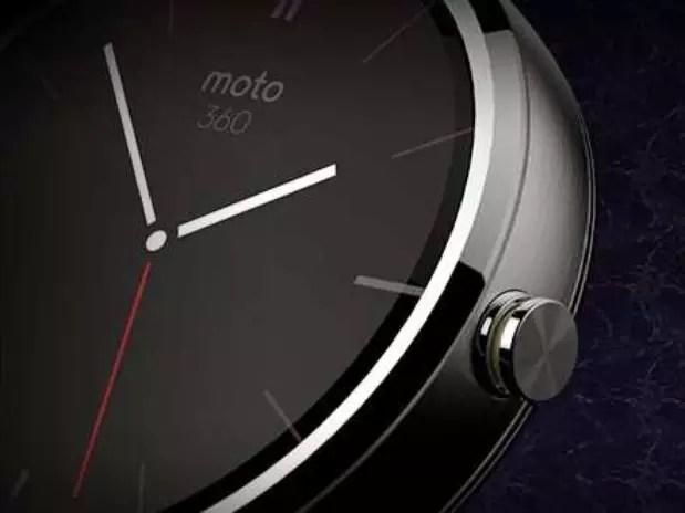 Moto 360, o primeiro smartwatch da Motorola Foto: Motorola / Divulgação