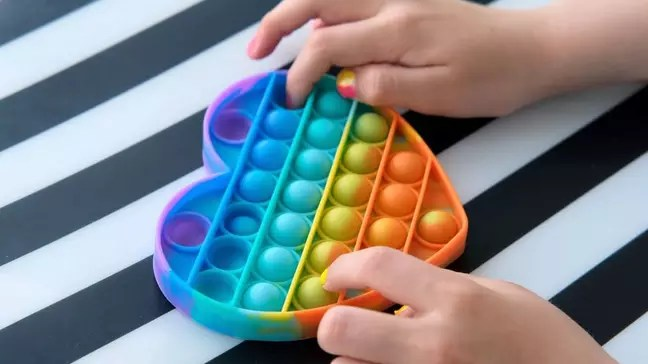 Sensory toys activate several senses, such as touch, sight and hearing