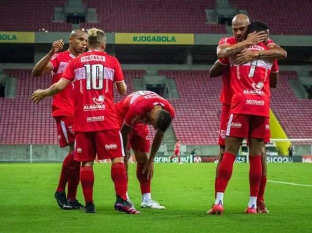 CRB vive uma excelente temporada (Foto: Divulgação/Francisco Cedrim/ASCOM CRB)