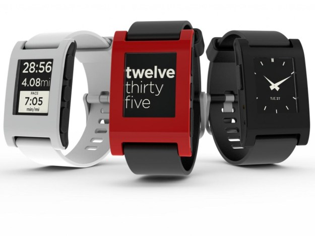 Pebble E-Paper Smartwatch für iOS und Android