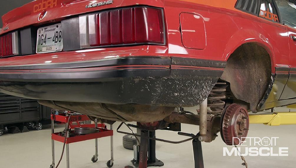 foxbody cobra suspension overhaul