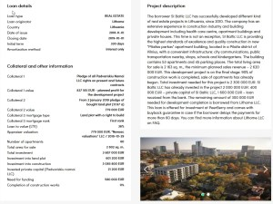 Peerberry Immobilienporjekt Beschreibung