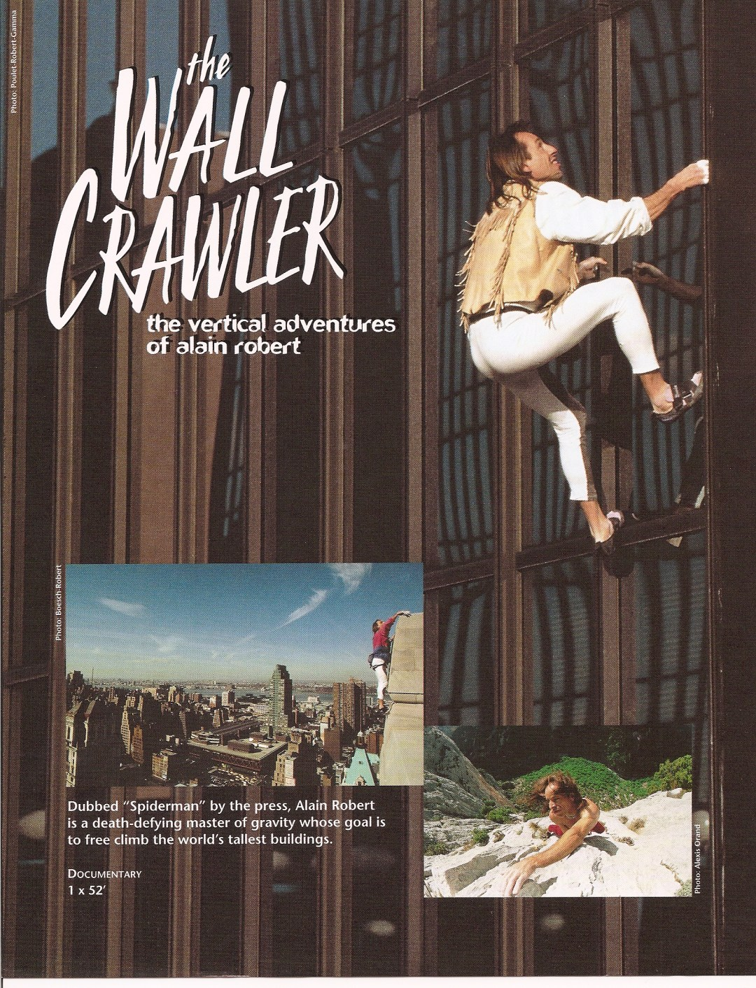 The Wall Crawler - Telly Award - Graham Knight - Filmmaker