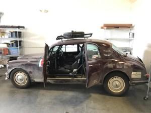 2016 Peking to Paris Road Rally - 1955 Lancia B12 - Blueridge Motorwerks - Schebish Brothers