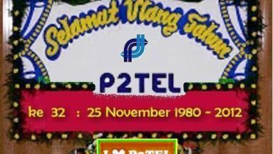 Photo of Renungan di hari jadi p2tel