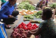 Photo of Susi Pudjiastuti Belanja Di Pasar Papua