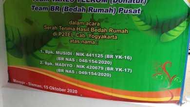 Photo of Bantuan BR utk PC Yogyakarta Dengan Donatur YAKES TELKOM 2020 kepada 2 PMP