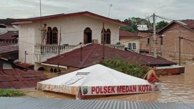 Photo of Berita Banjir  Di Medan Dan Meluap Sampai Binjai