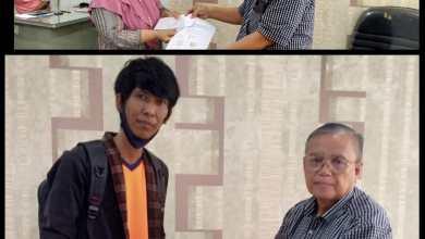 Photo of P2TEL Cab Bandar Lampung Serahkan Dakem Kpd AW Alm 2 PMP