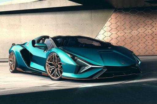 首款油電超跑敞篷版 藍寶堅尼Sian Roadster登場 - 8891新車