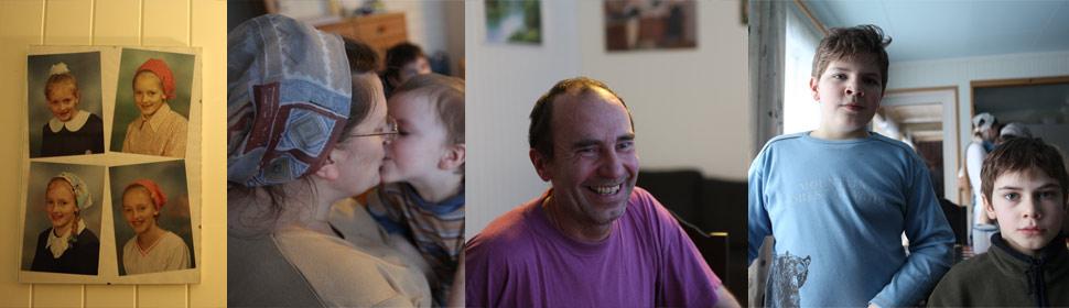 Hjemme hos familen Goas i Susendalen (Foto: Andreas Daugstad Leonardsen, NRK)
