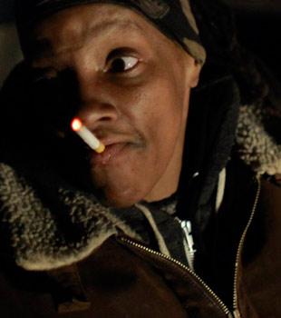 Hjemløse Brooklyn har bodd i kloakksystemene under New York i 20 år. (Foto: Erling Kagge)