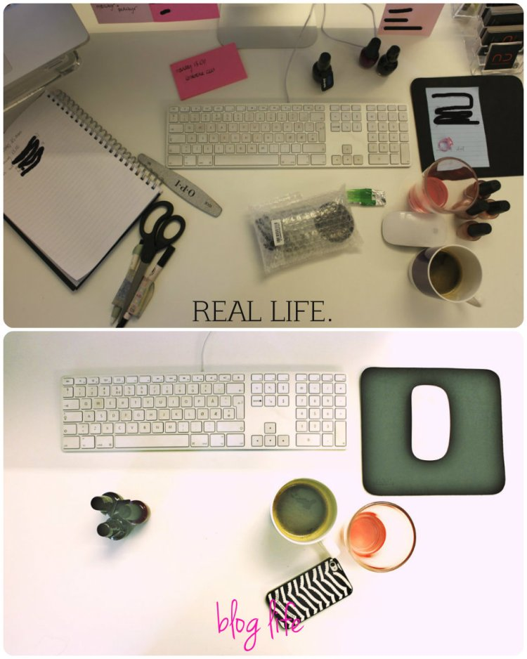 Belinda Jakobsen Blog Life  vs. Real Life