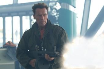 Legendariske Arnold Schwarzenegger i filmen The Expendables 2. (Foto: Norsk Filmdistribusjon)