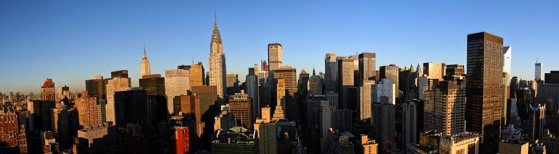 Det er vanskeligere å klare seg som praktikant på Manhattan, New York enn på Filippinene med praktikantstipendet. (Foto: Wikipedia)