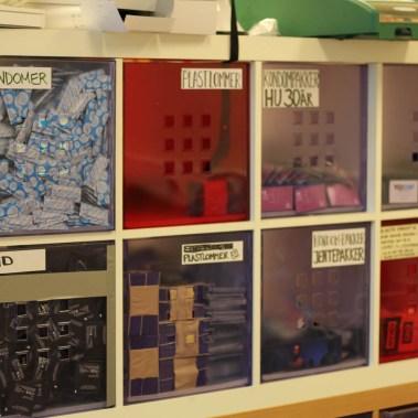 Kondomer og glidemiddel (Foto: Aksel Overskott, Helseutvalget)
