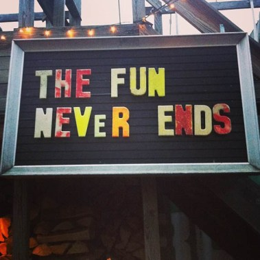 The fun never ends (Foto: Sarah Winona Sortland, Instagram)