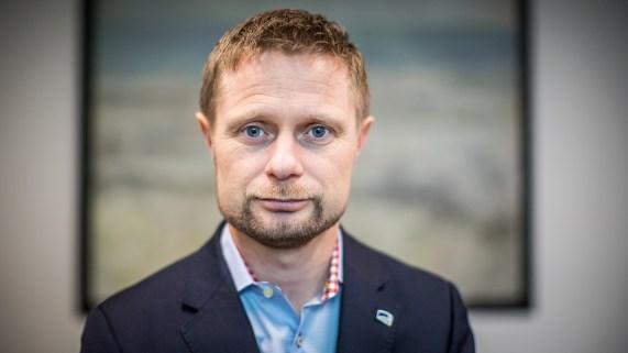 Helseminister Bent Høie (H). (Foto: Tom Øverlie, NRK)