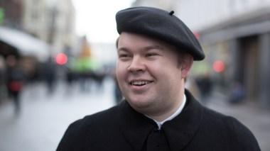 Benjamin Anda (20). (Foto: Tom Øverlie, NRK)