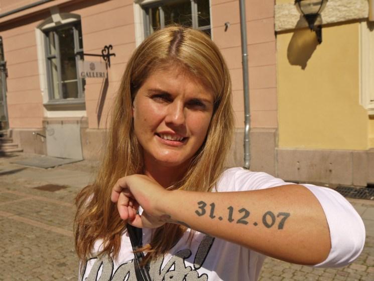 31.12.07 er en meget viktig dato for Heidi. (Foto: Webjørn Espeland)