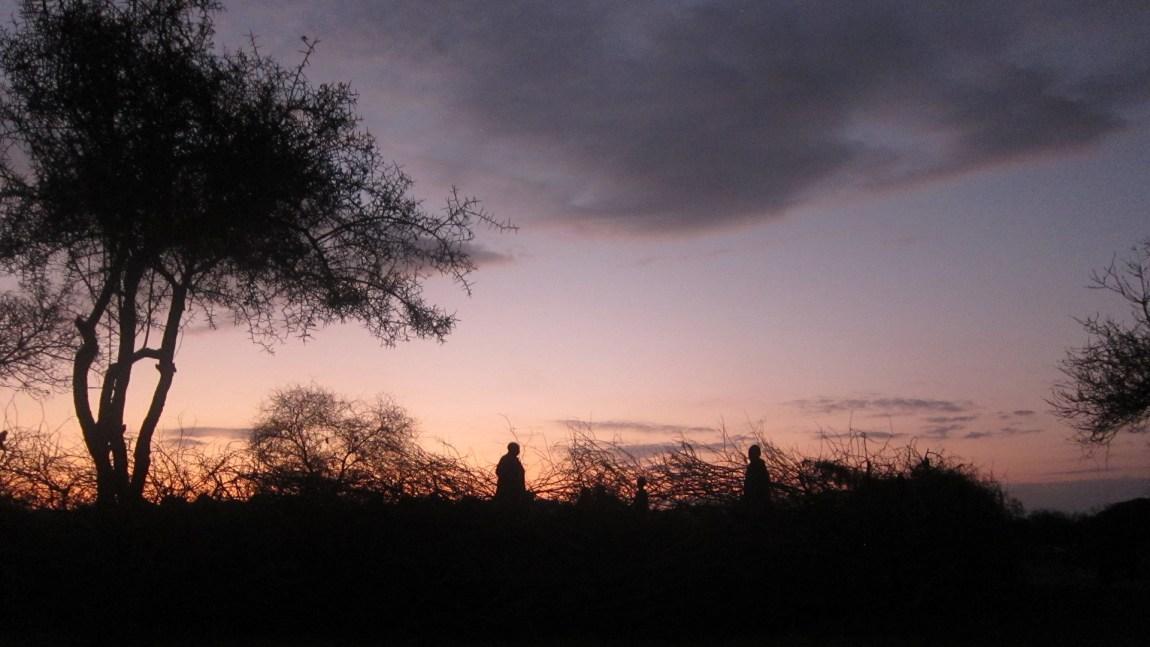 Solnedgang i Tanzania. (Foto: Privat)