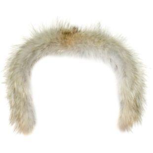 Behagelig pelskant til å feste på hetten. Pelskanten er laget av ekte pels fra Coyote av høy kvalitet for å gi optimal varme, og kan festes med borrelås på utvalgte Norrønajakker. (Foto: Norrøna)