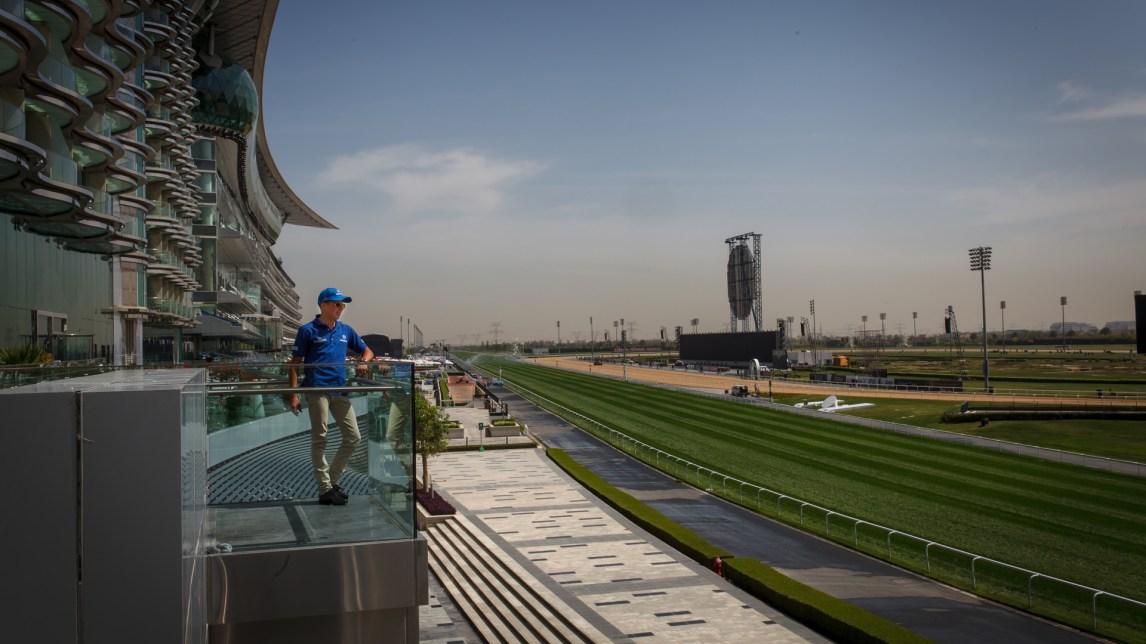 William Buicks overgang til herskeren av Dubai ga han den beste kontrakten i verden. (Foto: Matias Nordahl Carlsen, NRK)