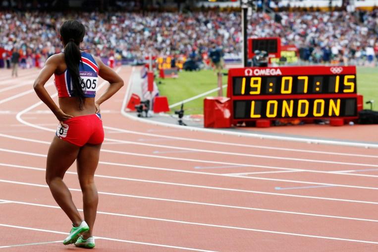 Ezinne Okparaebo under sommer-OL i London 2012. (Foto: Lise Åserud / NTB scanpix) Ezinne Okparaebo under sommer-OL i London 2012. (Foto: Heiko Junge / NTB scanpix)