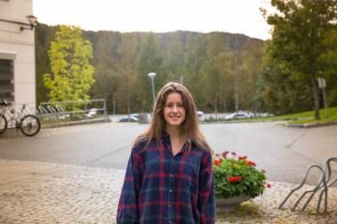 Hedvig Christoffersen (Foto: Anne Dorte Lunås, NRK)
