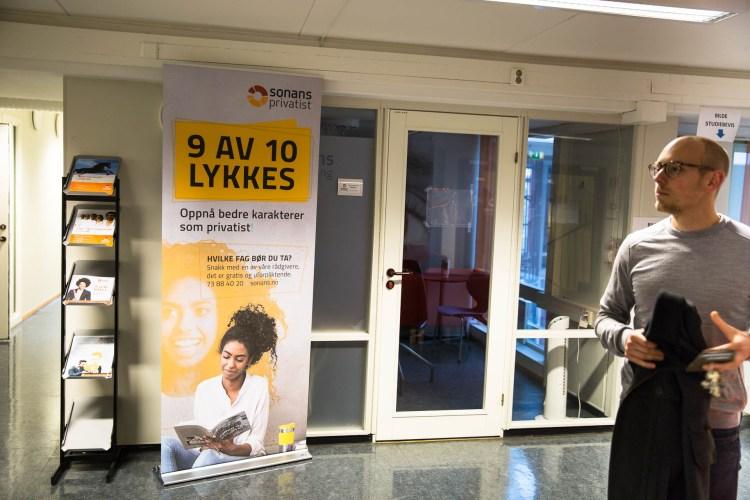 9 av 10 lykkes. Jørgen er nå foreleser ved Sonans. (Foto:  Anne Dorte Lunås, NRK)