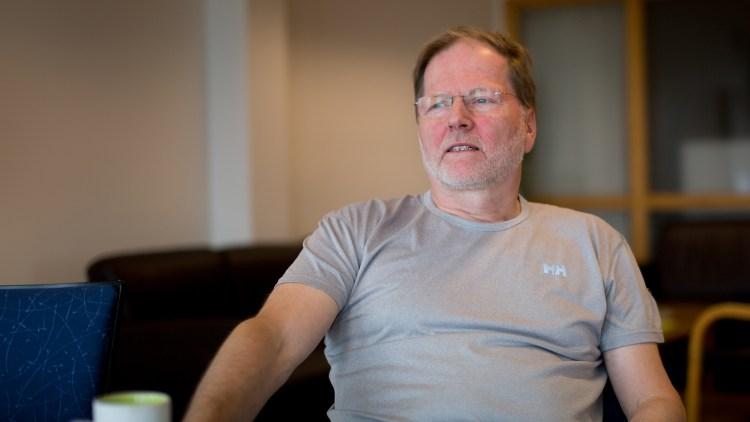 Karl Elling Ellingsen (Foto: Mari Aftret Mørtvedt/NRK)