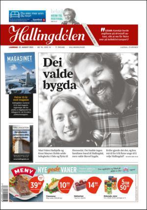 Gol kommune klarer ikke å bosette Mohsen og familien, samtidig som Hallingdølen skryter av unge som ønsker å bo i bygda. (Faksimile: Hallingdølen)
