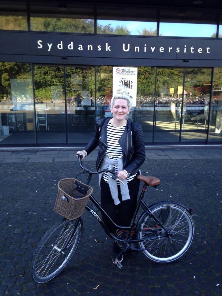 Hannah Kollsete hadde ikke sjans til å komme inn i Norge. (Foto: Privat)