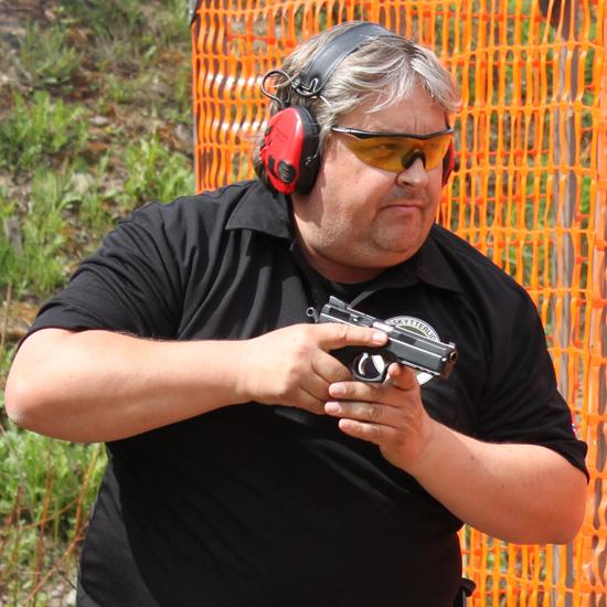 Morten Kløv, president i Dynamisk Sportsskyting Norge.