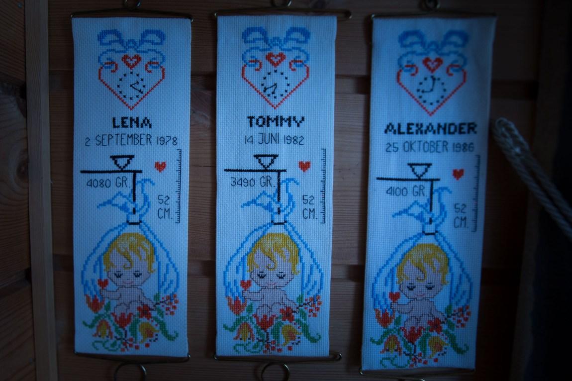 Nå lever bare to av de tre søsknene Lena, Tommy og Alexander. (Foto: Anne Dorte Lunås, NRK)