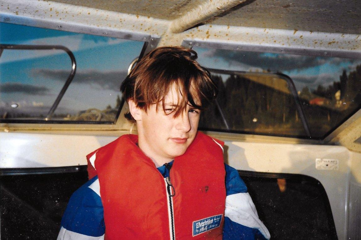 I 12-årsalderen gikk Richard fra å være en munter fyr til å bli klassens bråkebøtte. Han fortalte ingen om mannen han pleide å besøke etter skolen. Foto: Privat