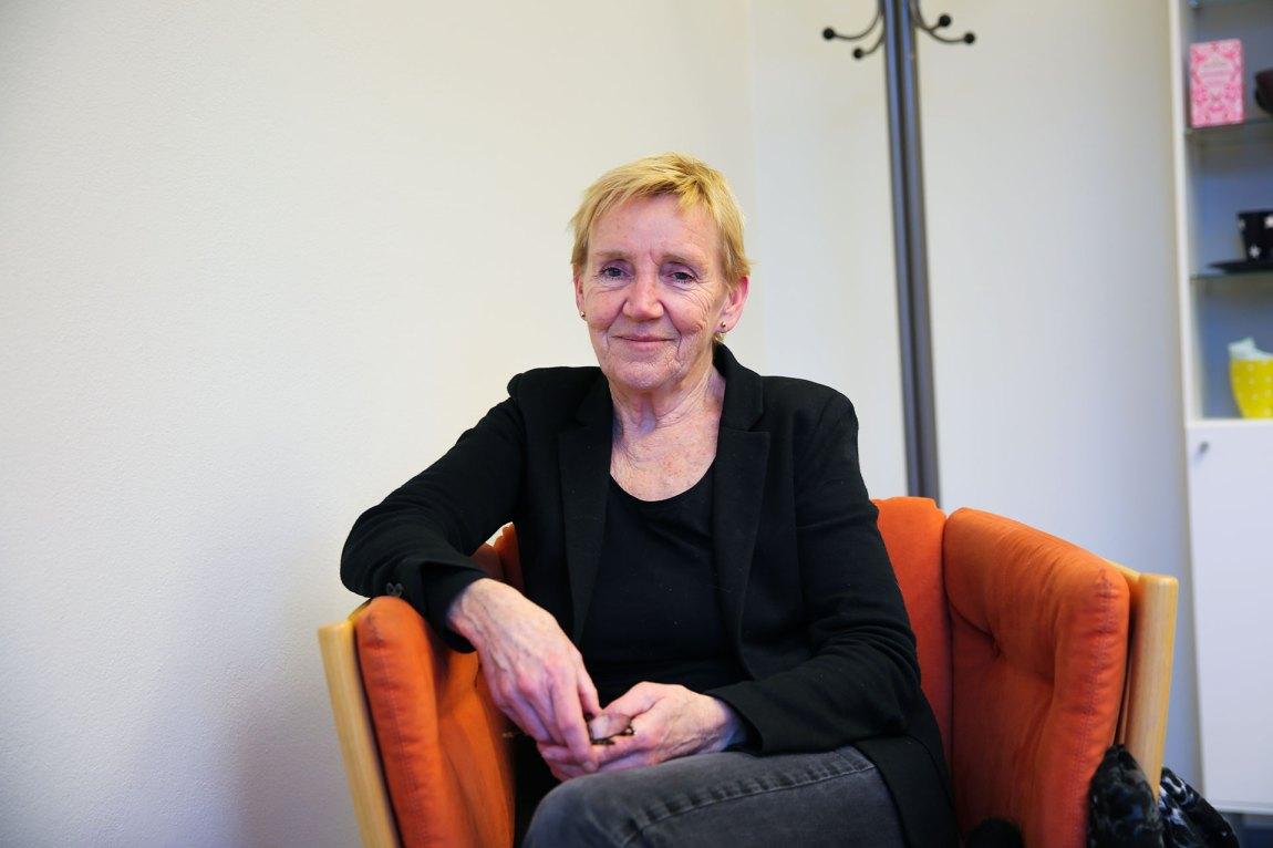Vigdis Wie Torsteinsson har jobbet med spiseforstyrrelser i en årrekke. Hos RASP møter hun de sykeste ungdommene i landet. Foto: Line Orfjell, NRK P3