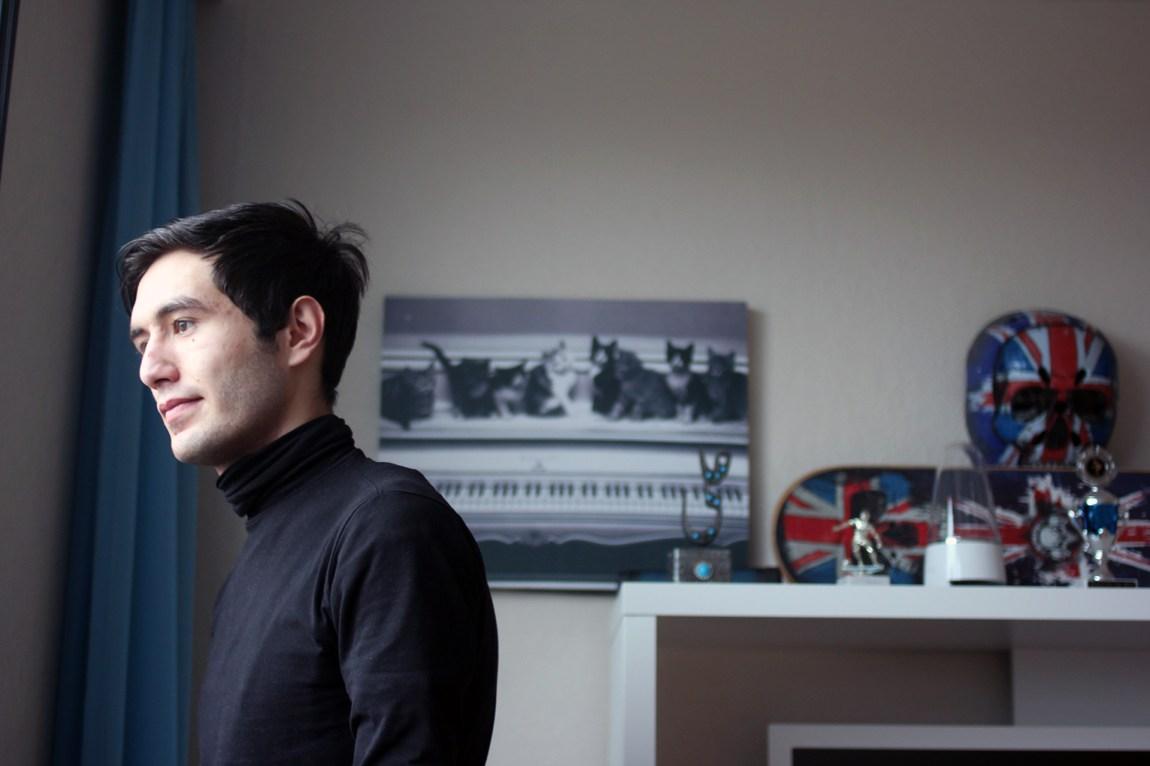 Majid kom til Norge fra Afghanistan høsten 2015. Før jul fikk han avslag på asylsøknaden sin. Foto: Frid K. Hansen