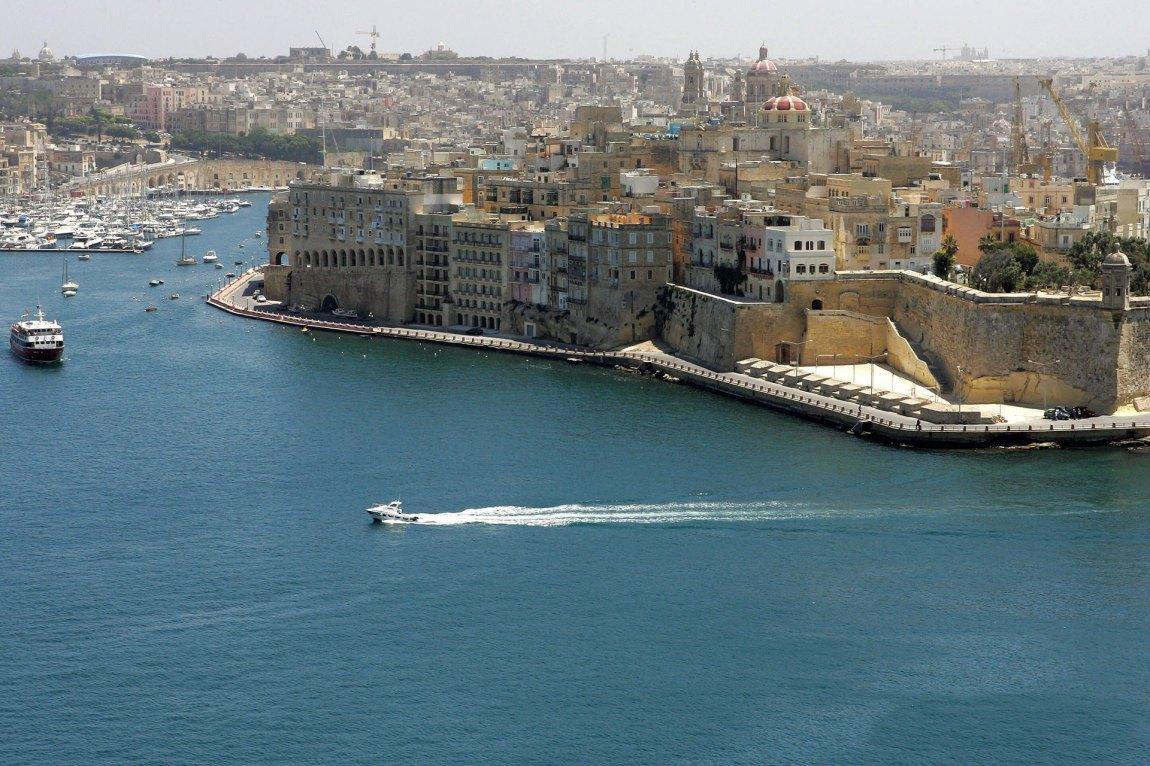 Malta: En liten øystat med store spillselskaper. Foto: Andreas Solaro, AFP
