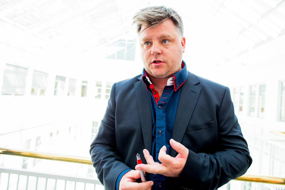NRK bruker fortsatt altfor mange midlertidig ansatte, mener Richard Aune i statskanalens fagforening. Foto: Vegard Wivestad Grøtt, NTB Scanpix