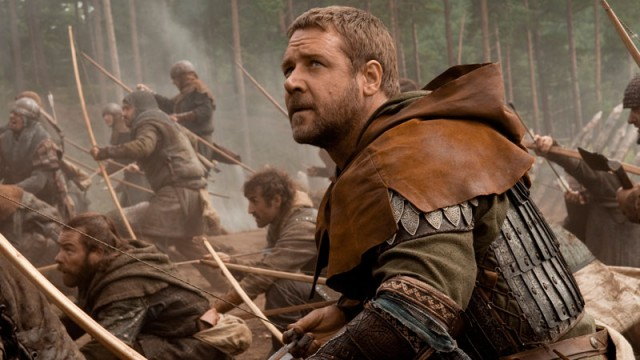 Russell Crowe som Robin Hood. (Foto: United International Pictures)