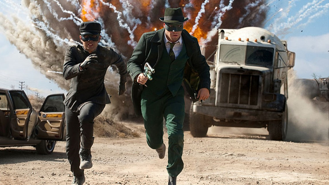 Green hornet. (Foto: Sony Pictures)