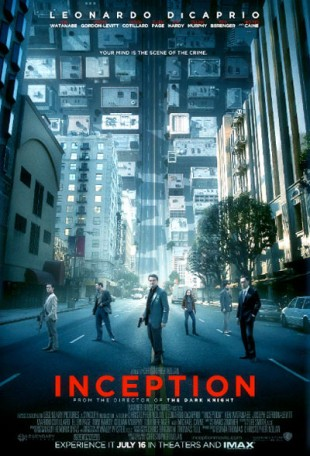 Inception poster. (Foto: Warner Bros. Pictures)